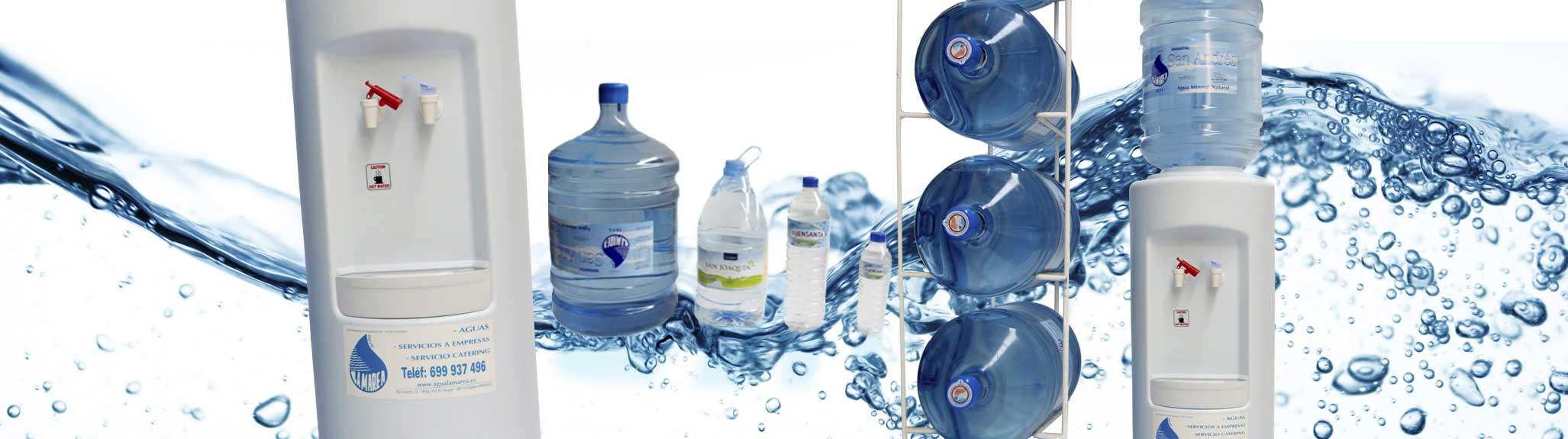 Distribución de agua mineral embotellada